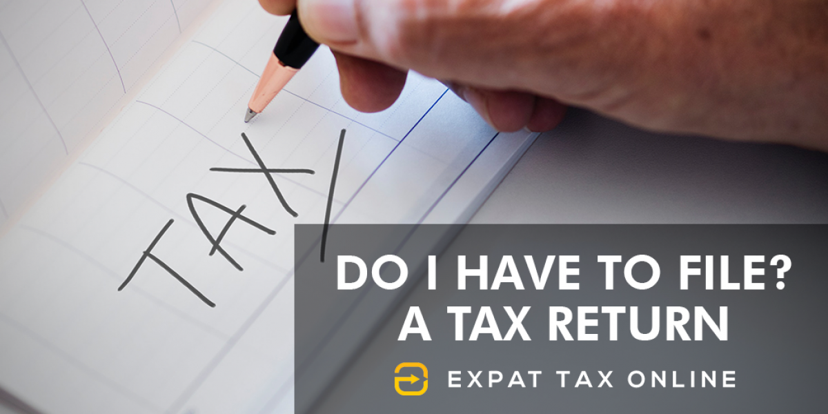 Do I have to file   Expat Tax Online