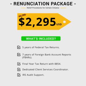 Renunciation by Relief Procedures