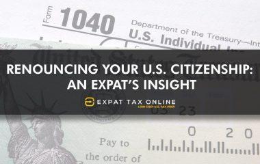 Expats Insight Renunciation