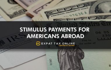 Stimulus payments for americans abroad