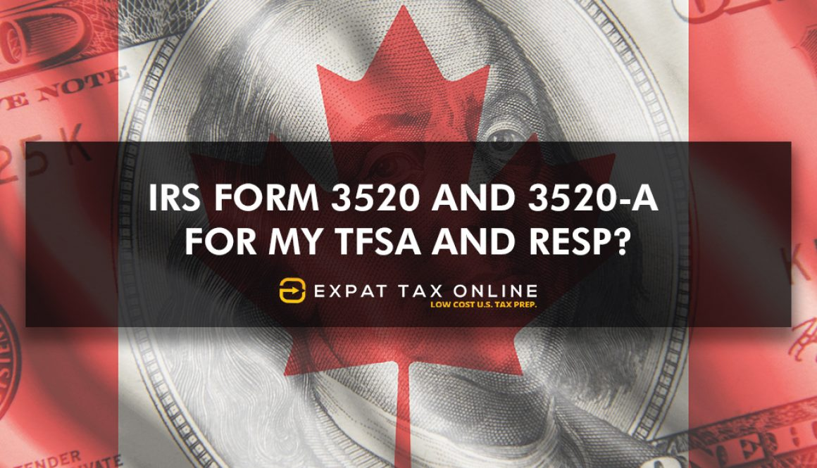TFSA and RESP for expats