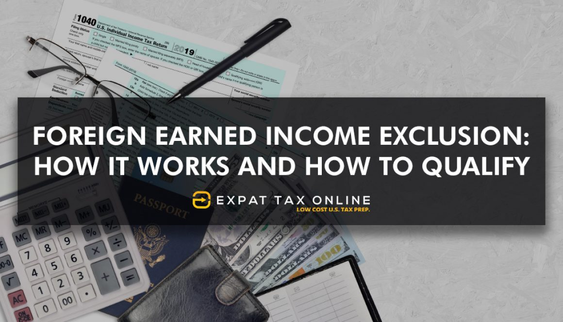 Foreign Earned Income Exclusion Dubai