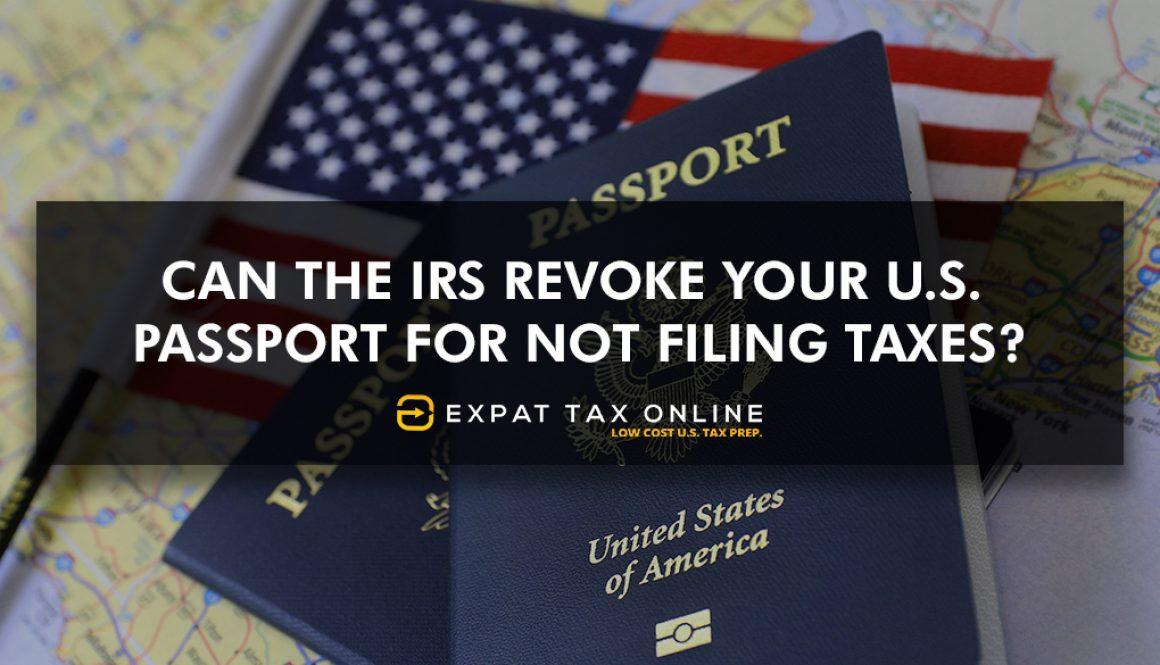 Revoke your U.S. Passport