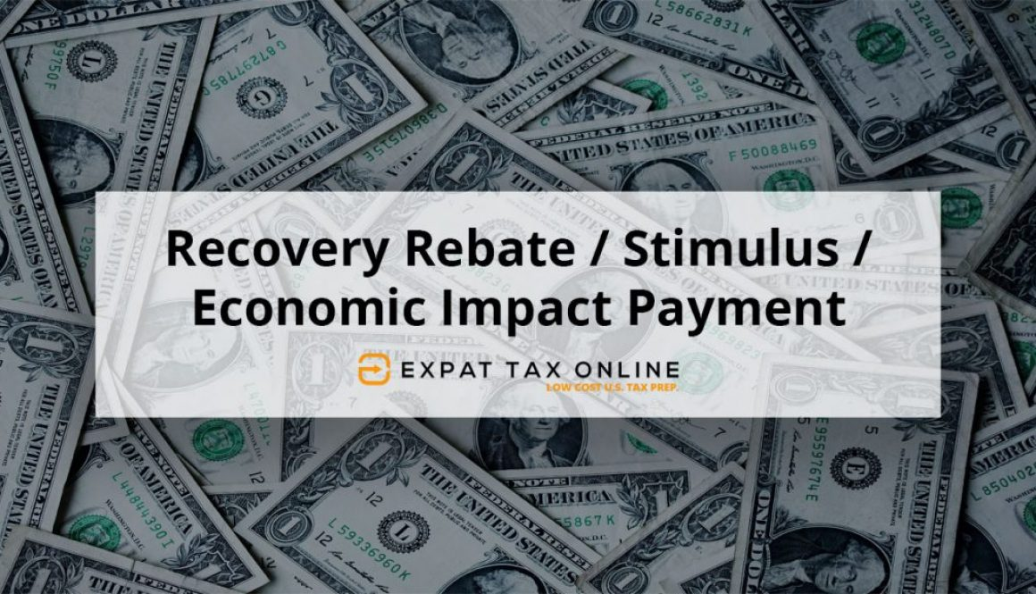 Recovery Rebate