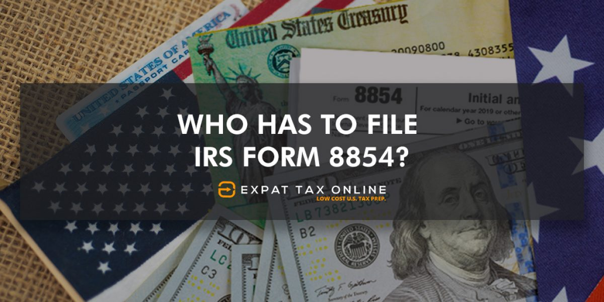 Form 8854
